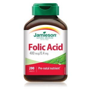 Фолиева киселина Jamieson 400 mcg