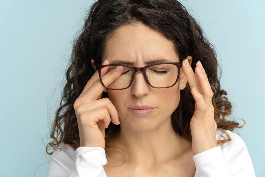 Жена страдаща от умора