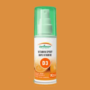 Витамин D3 във формата на спрей с вкус на портокал