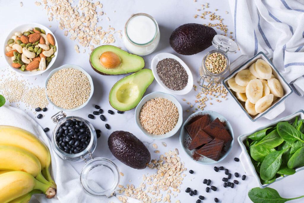 Храни богати на магнезий на маса
