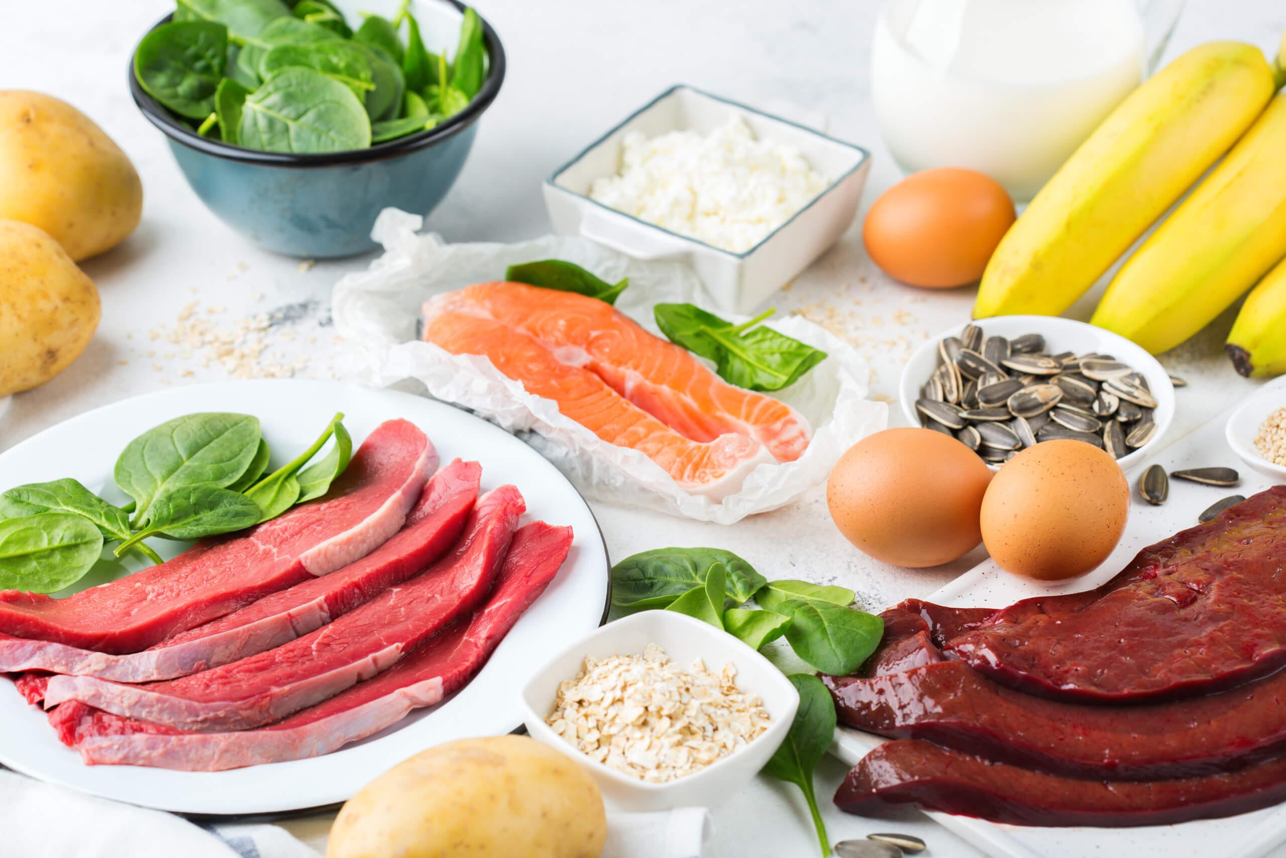 Храни богати на витамин Б