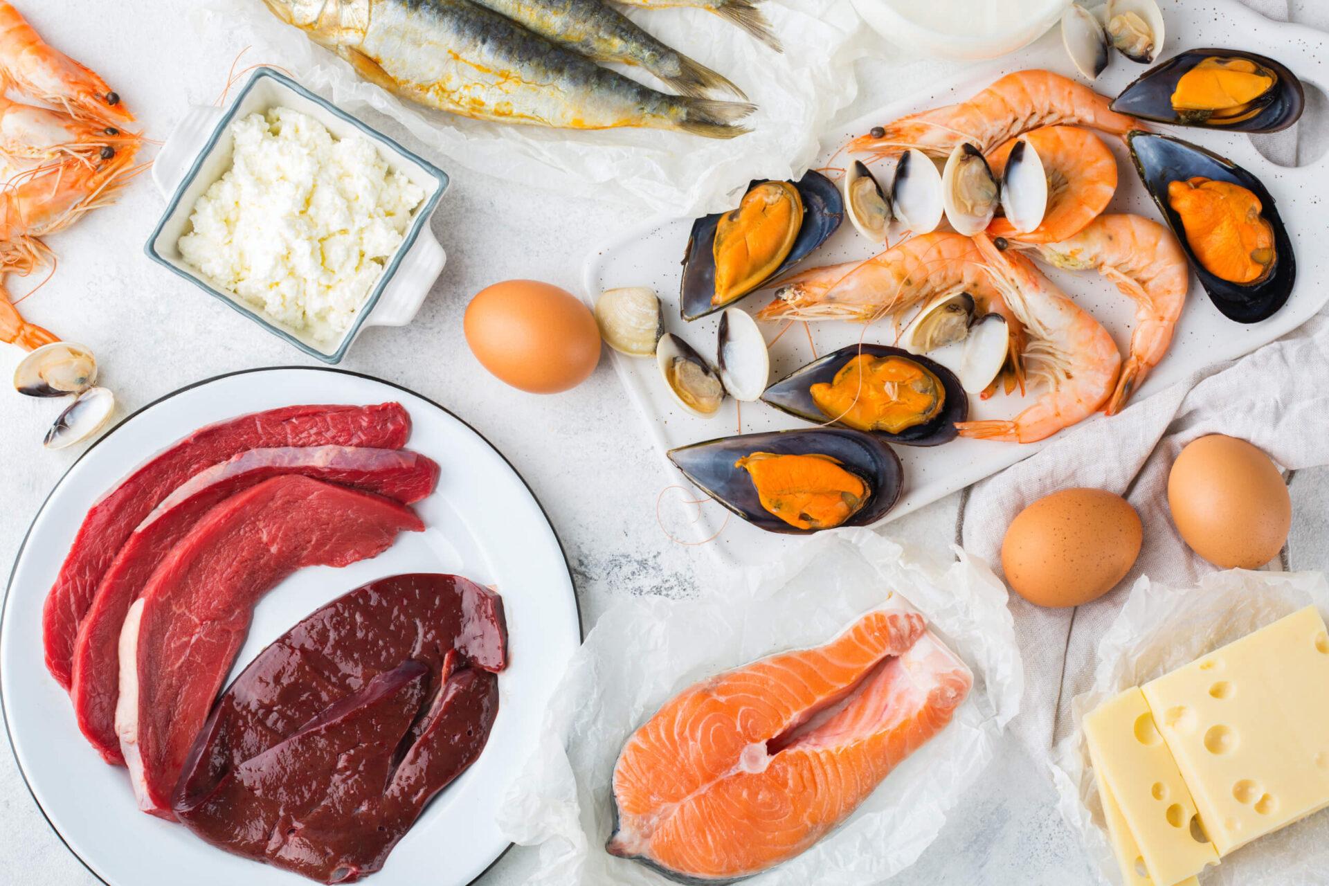 Храни богати на витамин Б12