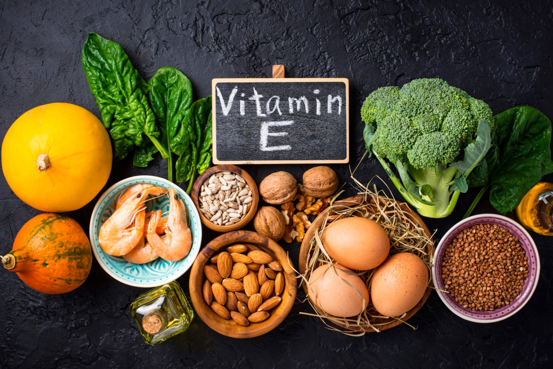 Богати на витамин Е храни