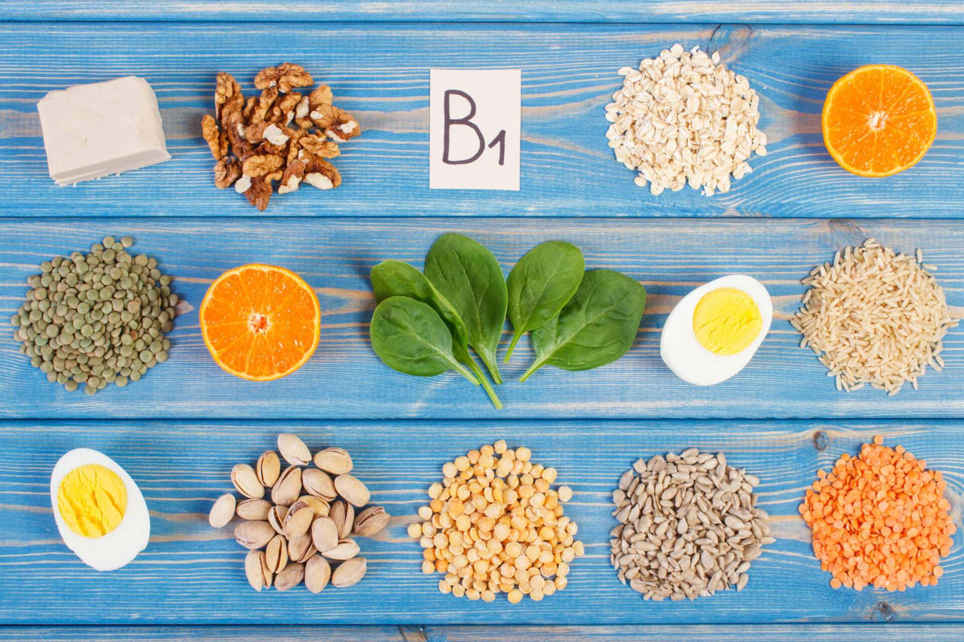 Храни съдържащи Витамин Б
